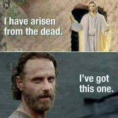 Zombie Jesus and The Walking Dead