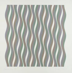 Bridget Riley, 'Coloured Greys II' 1972
