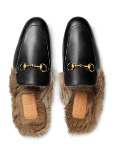 adc20d357 GUCCI Princetown穆勒鞋.  gucci  shoes Leather Slippers For Men