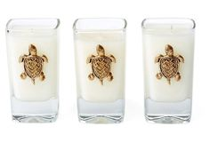 S/3 3-Oz. Votives, Seascape in {productContextTitle} from {brandTitle} on shop.CatalogSpree.com, your personal digital mall.