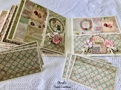 Cheryl's Paper Creations: *Sold* Stamperia Spring Mini Album By Cheryl's Paper Creations Journal Pages, Junk Journal, Bullet Journal, Memory Books, Graphic 45, Mini Books, Hello Everyone, Mini Albums, Decorative Boxes
