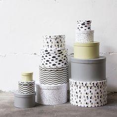 Boxes by Sostrene Grene
