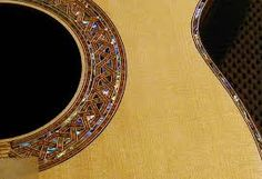 Image result for guitar rosette leaf