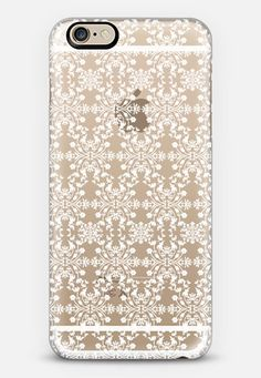 Casetify iPhone 7 Case and Other iPhone Covers - MOTIF PATTERN(WHITE)  by KANIKA MATHUR | #Casetify
