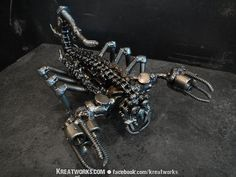 The Metal Scorpion small item by Kreatworks on Etsy, $64.00
