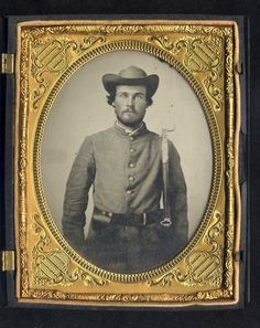 Haunting, Mysterious Photos From The Civil War | A group of seven Civil War photos of unidentified persons is seen at the Museum of the Confederacy in Richmond, VA. Officials at the Museum are publicly releasing the images in the remote chance a descendant may recognize a facial resemblance in order to identify these individuals.