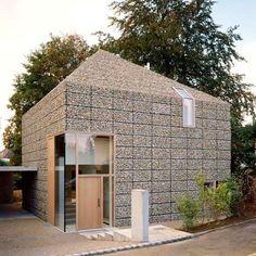 Gabion House - Titus Bernhard designer