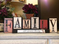 Family~Personalized Blocks
