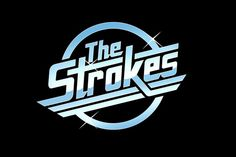 Reminiscent of the logos of classic new wave bands such as the Cars, The Strokes's chrome logo tipped a hat to their knowing indie sound.