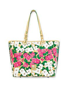 Dooney & Bourke Pansy Print Shopper. On my way to Macy's to get this one!
