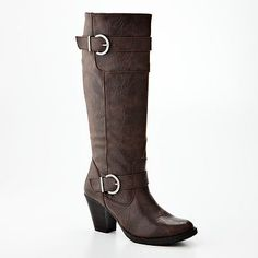 These are my perfect brown boots. $79.99. Black Friday made them 50 bucks less. I got the LAST pair in my size in the store. It's a Black Friday miracle!