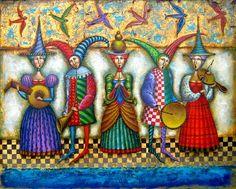 Sergey Ivchenko è nato nel 1954 a Francoforte sull'Oder, in Germania. Laureato all' Art Institute, Moscow, Russia 1976 , ha lavorato in ...