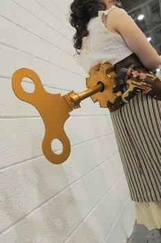 Completed Project: Steampunk Windup Key Picture #1