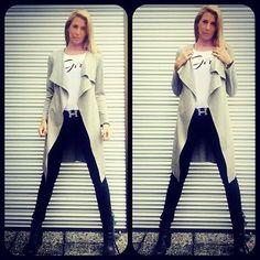"Guilia Siegel bei einem Fotoshooting mit ""Be a strong Girl"" Shirt.  Erhältlich im Online Shop: www.Beastronggirl.com"
