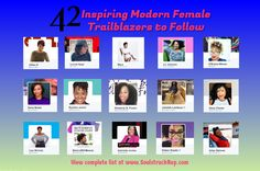 023. 42 Inspiring Modern Female Trailblazers to Follow on SM
