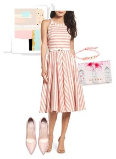 """""""dress"""" by masayuki4499 ❤ liked on Polyvore featuring Eliza J, Ted Baker and Monica Vinader"""
