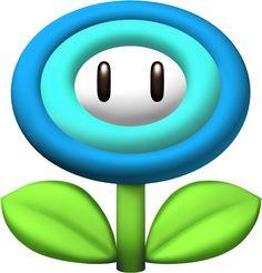 Super Mario Ice Flower