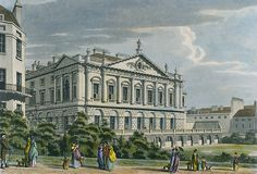 John Spencer initially employed the Palladian architect John Vardy, a pupil of William Kent. Vardy was responsible for the external elevations of Spencer House and the design of the ground floor rooms including some of the furniture. English Architecture, Georgian Architecture, Architecture Old, Historical Architecture, Architecture Sketches, Classical Architecture, Spencer House, John Spencer, Spencer Family