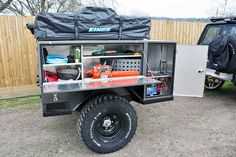 Camping House For Rent Refferal: 6891439261 Adventure Trailers, Best Trailers, Custom Trailers, Camper Trailers, Off Road Teardrop Trailer, Off Road Trailer, Expedition Trailer, Overland Trailer, Trailer Plans