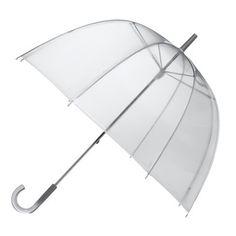 Clear Bubble Umbrella. El clásico.