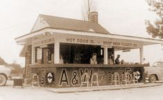 """A&W Root Beer was founded in 1922. By 1928 they had around 2000 kiosks. To this day, there might be some around the United States. """"Alex-Jordan"""""""