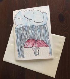 I Won't Let It Rain On You by walrusbaby on Etsy