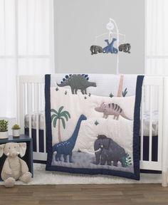 Blue Bedding Sets, Crib Sets, Crib Bedding Sets, Crib Mattress, Baby Bedding, Ruffle Comforter, Dinosaur Crib Bedding, Dinosaur Nursery, Baby Boy Rooms