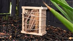 A bug hotel is a great way to bring all sorts of critters such as native bees, bugs and other interesting creatures into your yard. Find out how to make one with this guide from Bunnings Warehouse. Mini Bowling, Bug Hotel, Painted Boards, Painters Tape, Own Home, Diy For Kids, Warehouse, Bugs