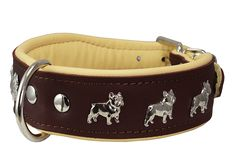 Real Leather Soft Leather Padded Dog Collar Bulldog ** You can find out more details at the link of the image. (This is an affiliate link) #Doggies