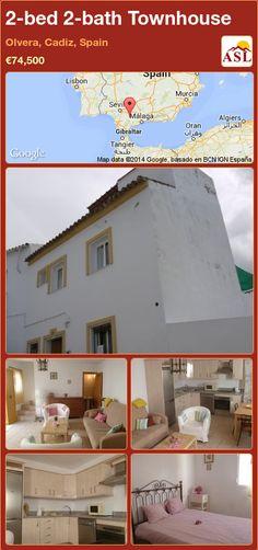 2-bed 2-bath Townhouse in Olvera, Cadiz, Spain ►€74,500 #PropertyForSaleInSpain