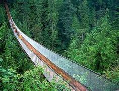 Capliano Suspension Bridge in vancouver BC