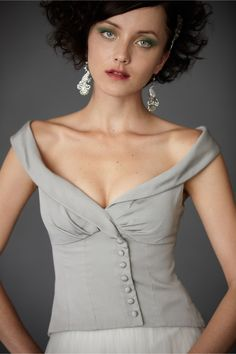 Cute Top. Obliquely Waistcoat in SHOP Sale Separates at BHLDN