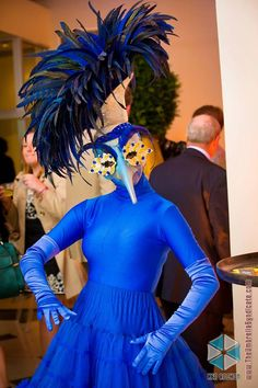Come dance with the Blue Bird of Happiness!