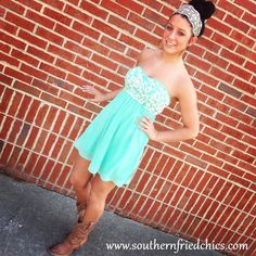 Southern Style Prom Dresses