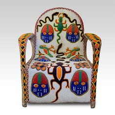 Unknown Artist | Tribal Art | African Space | Kings Chair, Cameroon