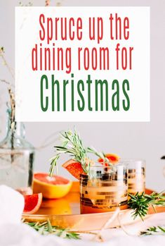 Lots of lovely ideas for sprucing up a dining room for Christmas to make it look amazing.  Christmas decor is really something special and this handy guide will steer you in a fabuous festive direction.  #christmastable #christmashome #christmasdecor #christmas #christmasdiningroom