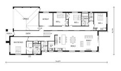 Turin 230, Home Designs in Launceston | GJ Gardner Homes Launceston. REMOVE BEDROOM 2