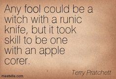 Terry Pratchett Quotes - Meetville