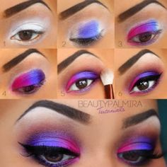 something like this but with turquoise, green & purple for princess prom group Ariel??
