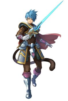 View an image titled 'Roddick Farrence Art' in our Star Ocean: Anamnesis art gallery featuring official character designs, concept art, and promo pictures. Game Character Design, Fantasy Character Design, Character Design References, Character Design Inspiration, Character Art, Character Reference, Character Ideas, Face Characters, Fantasy Characters