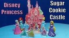 NEW Disney Princess Sugar Cookie Castle Kit How to Make DIY . Cinderella...