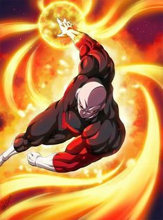 Jiren fire destruction ball