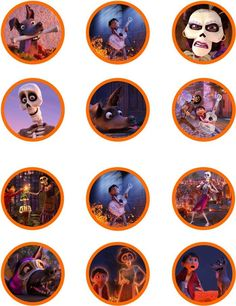 Imagen relacionada Star Wars Birthday, Birthday Bash, Birthday Party Themes, Disney Printables, Party Printables, Coco Disney, Coco Photo, Skull Face Paint, Cupcake Toppers Free