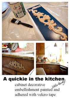 Itu0027s The Little Things In Life. Diy CabinetsKitchen CabinetsSimple ...