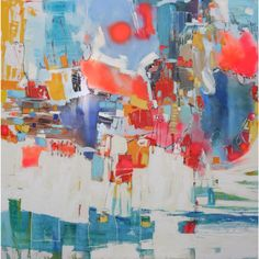 Alejandra Puga H. Art, óleo, chileanart, arte contemporáneo, color