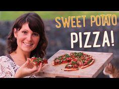 ▶ Vegan Sweet Potato Pizza Recipe - YouTube