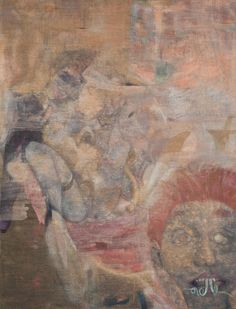 """Kai Althoff. Untitled. 2010. Oil on canvas. 60 1/8 x 46"""" (152.7 x 116.8 cm). Gift of Beth Swofford. 850.2011. Painting and Sculpture"""