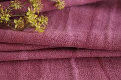Grainsack Endless Love - Antique and handmade linen rolls and grain sacks. Welcome to our world of unique and changeless antique textile treasures.-T 579 antique dyed linen roll crimson red