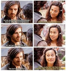 Funny Gwaine and Gwenivere moment from Merlin Merlin Memes, Merlin Funny, Merlin Merlin, Merlin Gwen, Merlin Quotes, Sherlock Quotes, Smallville, Movies Showing, Movies And Tv Shows