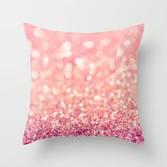 Blush+Deeply+Throw+Pillow+by+Lisa+Argyropoulos+-+$20.00
